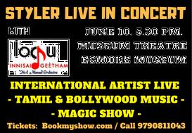 STYLER Live in Concert