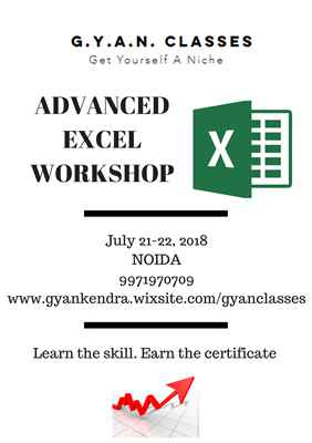 Advanced Excel Workshop