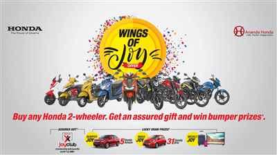 Ananda Honda Wings of Joy Offer