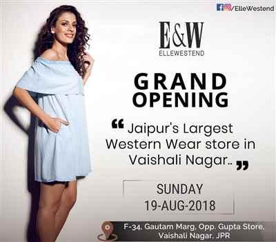Grand Opening of Largest western wear store Vaishali nagar