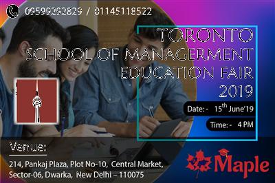 Study in Canada Free Education Fair in Dwarka Free Registration