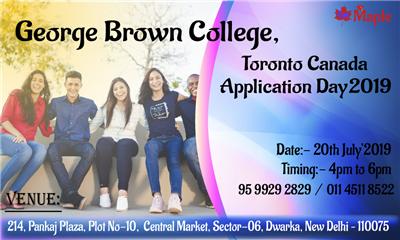 George Brown College Toronto Canada Application Day