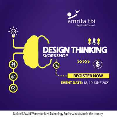 Design Thinking Worshop from Amrita TBI