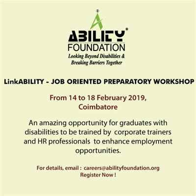 LinkABILITY JOB ORIENTED PREPARATORY WORKSHOP
