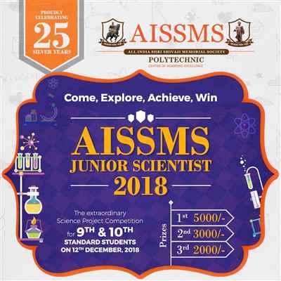 AISSMS Junior Scientist 2018