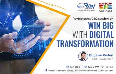 Win Big with Digital Transformation Raybiztech