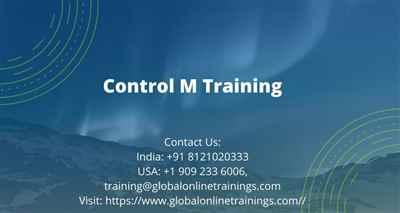 Control M Training BMC Control M Online Training Course