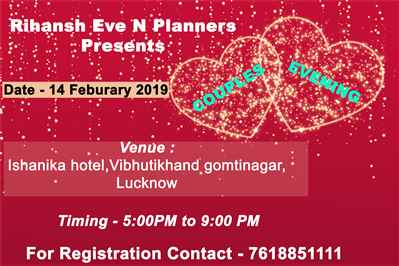 Celebrate Valentines Day Party Special in Lucknow