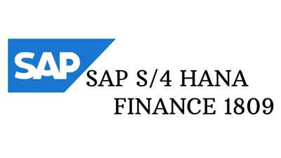 Sap S 4 Hana Finance 1809 Training And Certification Course