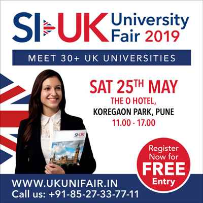 Top UK Universities in Pune on Saturday 25 May 2019