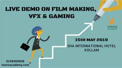 Free Live Demo on Film Making VFX and Gaming