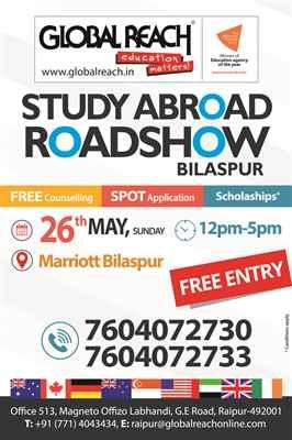 Study Abroad Roadshow Bilaspur