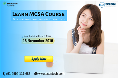 Take Best MCSA Training in Noida Paid Training