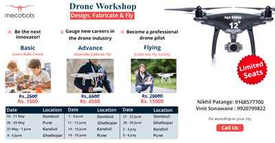 Drone Workshop Learn Build and Fly your drone