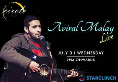 Aviral Malay is blocked for 3rd July at Circle Cafe and Bar Block E Kalkaji New Delhi