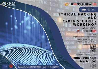 Ethical hacking and cyber security workshop