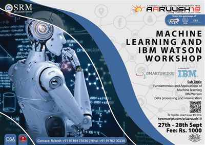 Machine Learning and IBM Watson workshop