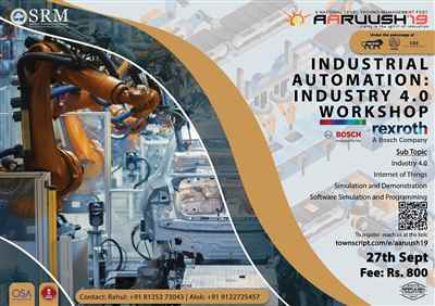 Industrial Automation Industry 4 0 workshop
