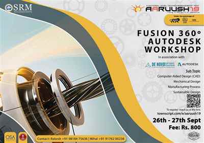 Fusion 360 autodesk workshop