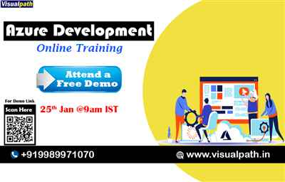 Free Online Demo Class on Azure Development Training from Industry experts