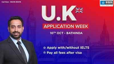 UK Application Week