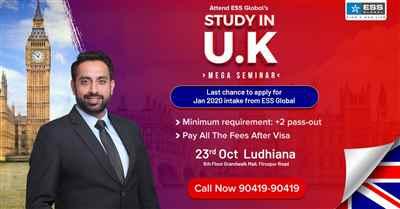 Study in UK Mega Seminar