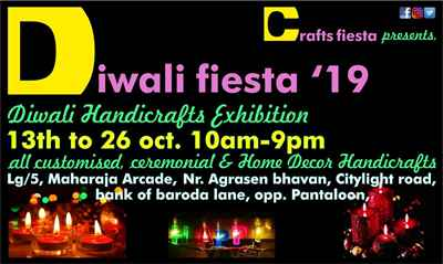 Diwali Fiesta 2019 Ceremonial and Festival Decor Handicrafts exhib