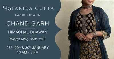 Farida Gupta Chandigarh Exhibition