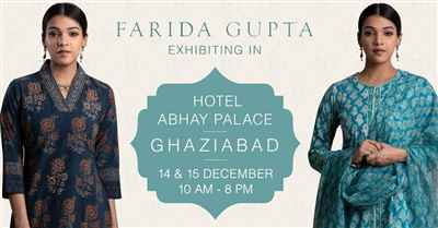 Farida Gupta Ghaziabad Exhibition