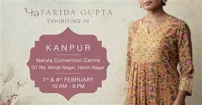 Farida Gupta Kanpur Exhibition