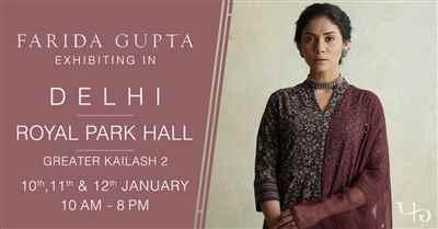 Farida Gupta Delhi Exhibition GK II