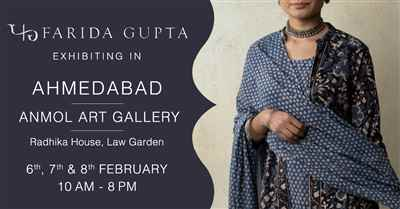 Farida Gupta Ahmedabad Exhibition
