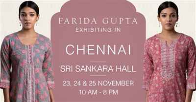 Farida Gupta Chennai Exhibition