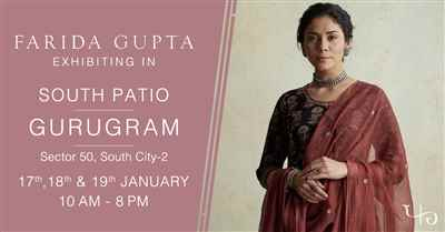 Farida Gupta Gurugram Exhibition South City 2