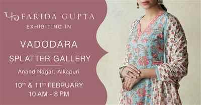 Farida Gupta Vadodara Exhibition