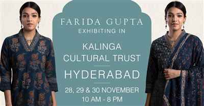 Farida Gupta Hyderabad Exhibition