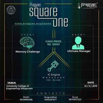 Square One Pragyan 2020