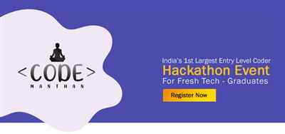 Code Manthan India s Largest Coding Challenge