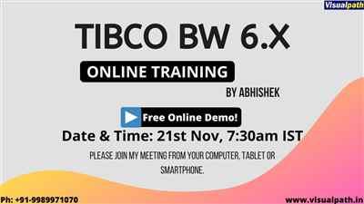 TIBCO BW 6 x Training