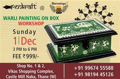 Penkraft Warli Art Workshop at Thane
