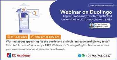 Free Webinar on Duolingo English Proficiency Test