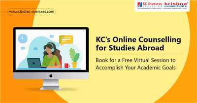 Attend Online Virtual Counselling for Studies Abroad