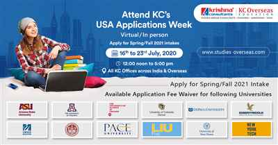 Attend USA Applications Week from 16th to 23rd July 2020