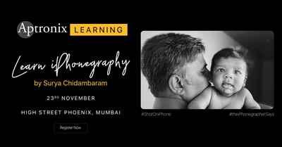 Free iPhone Photography Workshop by Mr Surya Chidambaram