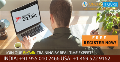 Grow your career with Biztalk Online Training from the experts