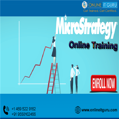 Grow your career with Microstrategy Online Training from the experts