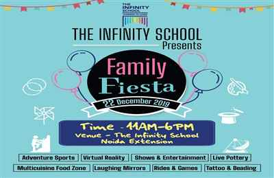 The Infinity School Presents Family Fiesta