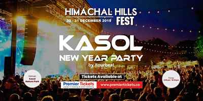 Himachal Hills Festival Kasol New Year Party