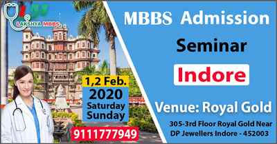 MBBS ABROAD SEMINAR IN INDORE