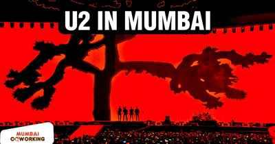 U2 in Mumbai The Joshua Tree Tour 2019